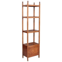 Early 19th Century Mahogany Four-Tier Whatnot
