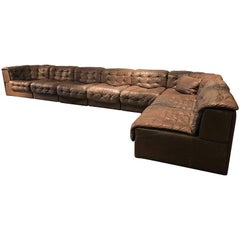 Leather Vintage Sofa by De Sede, DS11