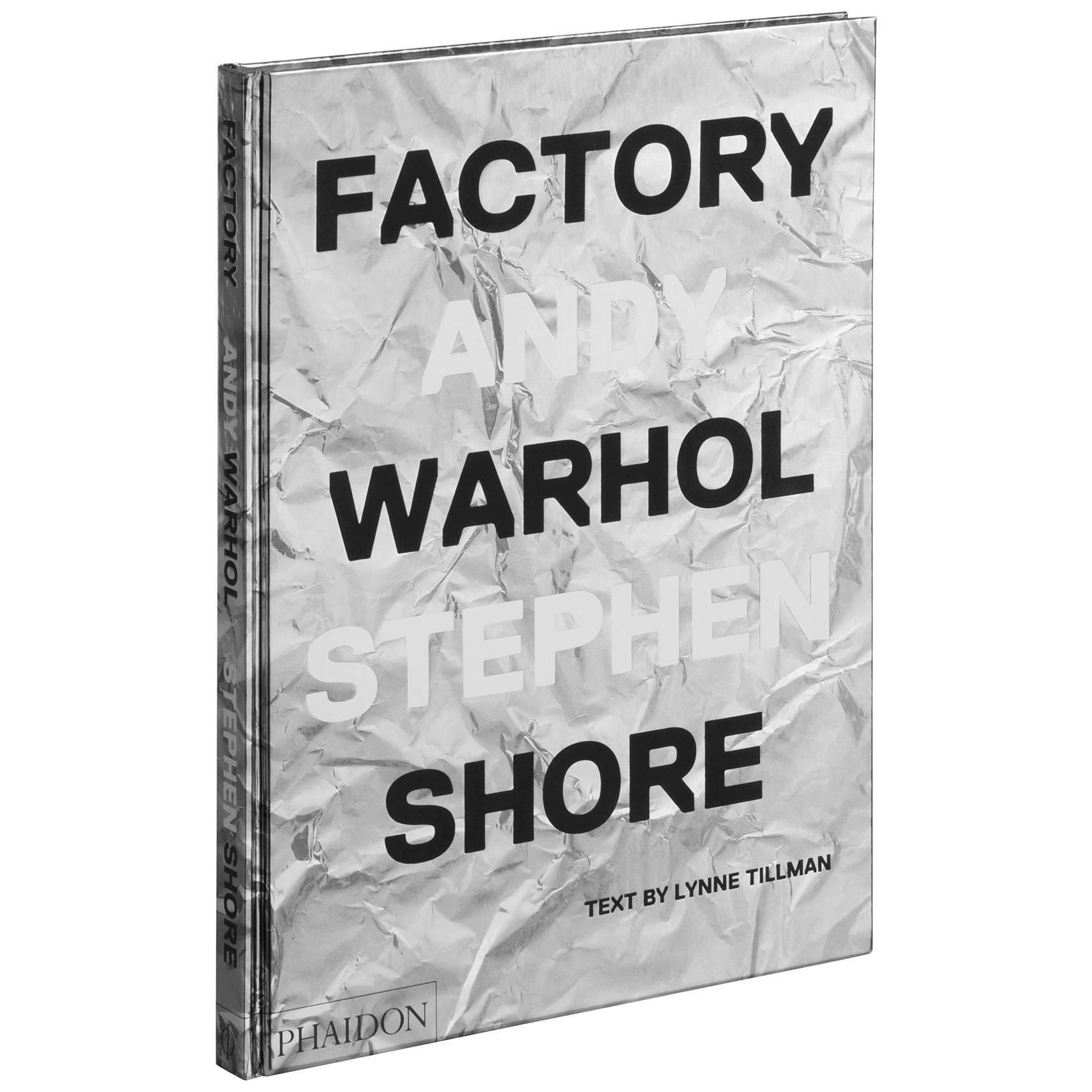 Stephen Shore Factory, Andy Warhol Photobook