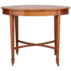 19th Century Satinwood Centre Table