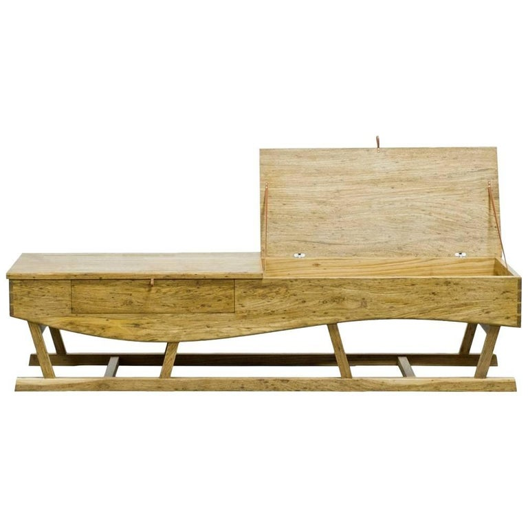 Low Sideboard Brazilian Tropical Hardwood Handcrafted by Ricardo Graham Ferreira For Sale