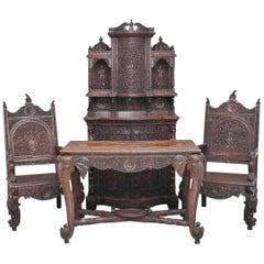 19th Century Indian Rosewood Suite