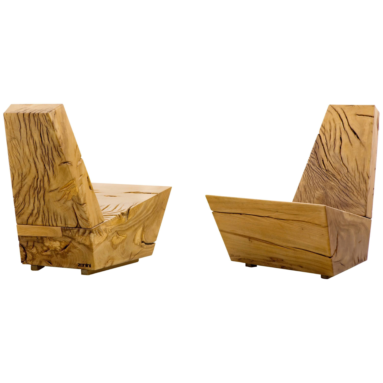 Contemporary Armchair, Brazilian Design by Zanini De Zanine