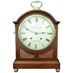 German Late 19th Century W&H Ting Tang Striking Bracket Clock