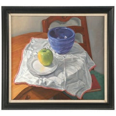 American Original Still Life Oil Painting from Chicago