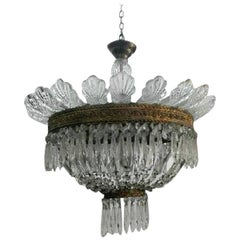 Chandelier Made in Italy by Luigi Brusotti