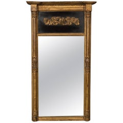 Regency Antique Pier Mirror in Giltwood & Gesso, Early 19th Century, circa 1820