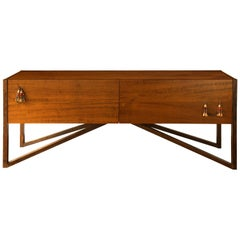Tribos Buffet or Credenza in Brazilian Imbuia Hardwood