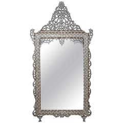 Superb 1900s Syrian Mother-of-pearl Mirror