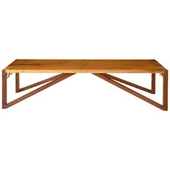 Imbuia Wood Tribos Bench by Brazilian Yankatu (solid wood)