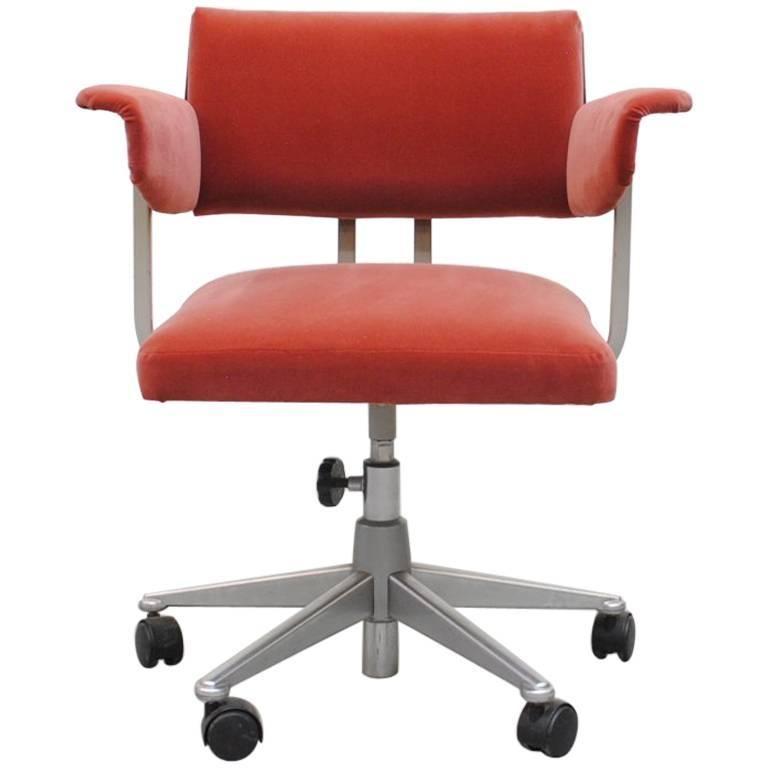 Friso Kramer Rolling Resort Office Chair At 1stdibs