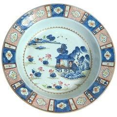 Large 18th Century Chinese Imari Bowl