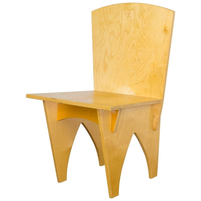 Interlocked Plywood Chair For Sale