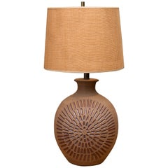 David Cressey Ceramic Art Lamp