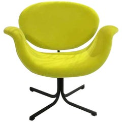 Neon Green Pierre Paulin Tulip Chair