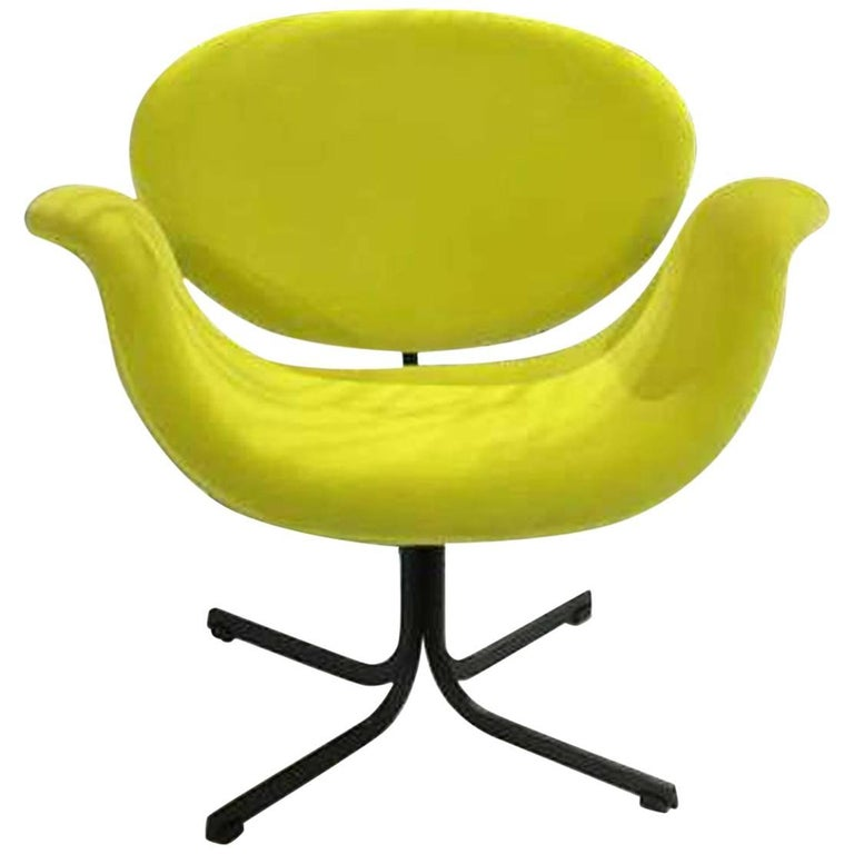 Neon Green Pierre Paulin Tulip Chair