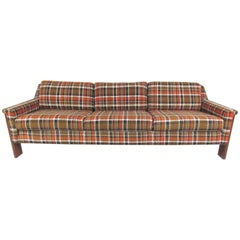 Vintage Modern Three-Seat Sofa Attributed to Adrian Pearsall