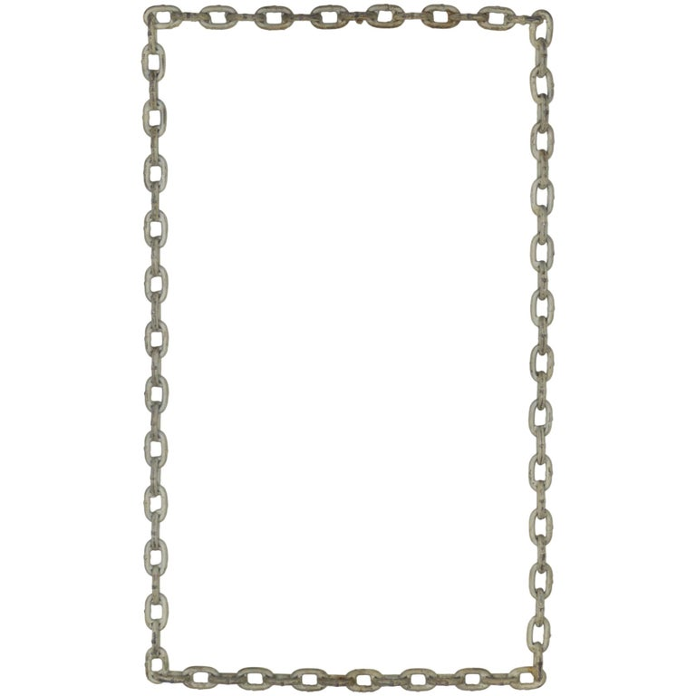 Welded Chain Wall Hanging