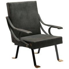 Digamma Recliner Chair by Ignazio Gardella