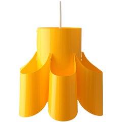 Lamp in Yellow Plastic