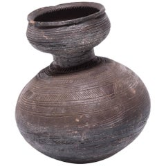 Nupe Gourd Water Vessel