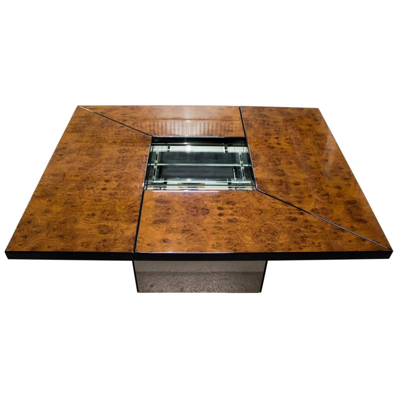 Paul Michel Burl Wood Coffee Table 1