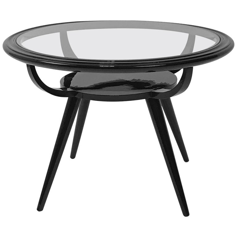 Italian 1940 round little table for sale at 1stdibs for Coffee tables 80cm wide