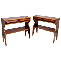 Console Tables, Italy, Mid-20th Century