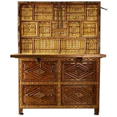 17th Century Spanish Cabinet Vargueno