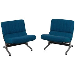 Pair of Easy Chairs by Etienne Fermigier