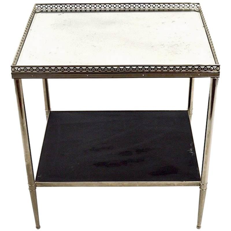 Elegant Side Table Attributed to Maison Jensen