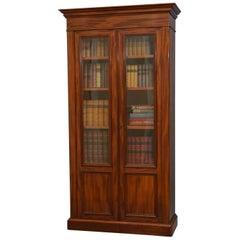 19th Century French Bookcase in Mahogany