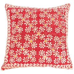 Pillow Case Made from an Early 20th Century Indian Applique Panel