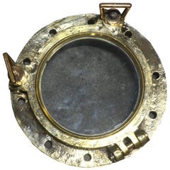 Original Bronze Ship Porthole