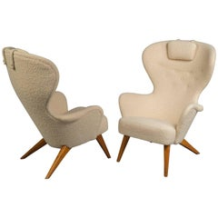 Pair of Armchairs, Sweden, 1950s