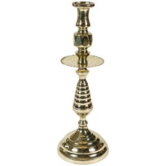 Brass Beehive Candleholder with Wax Catcher
