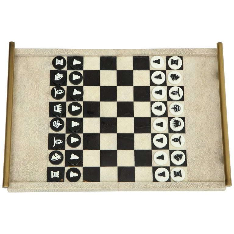 Shagreen Chess Game, France Offered by Area ID For Sale