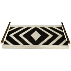 Shagreen and Bronze Tray, Offered by Area ID