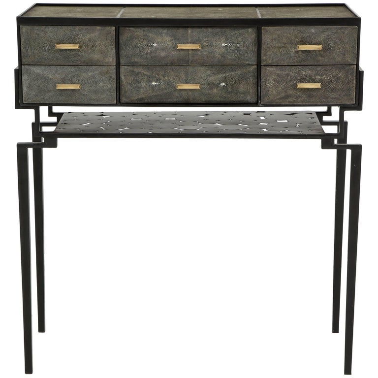 Shagreen Cabinet, Offered by Area ID For Sale