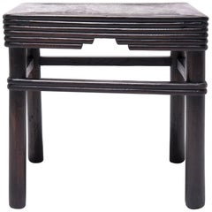 19th Century Chinese Square Stool