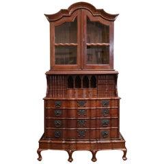 19th Century Superbly Crafted Solid Nedun Wood Secretary from Sri Lanka