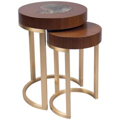Set of Two Nesting Tables, USA, 2017