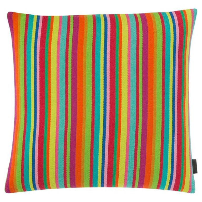Maharam Pillow, Millerstripe by Alexander Girard For Sale