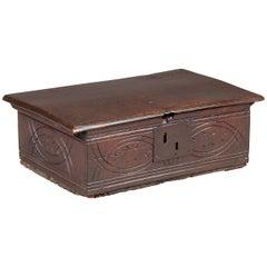 Salisbury Workshop Mid-17th Century Oak Box
