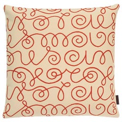 Maharam Pillow, Names by Alexander Girard