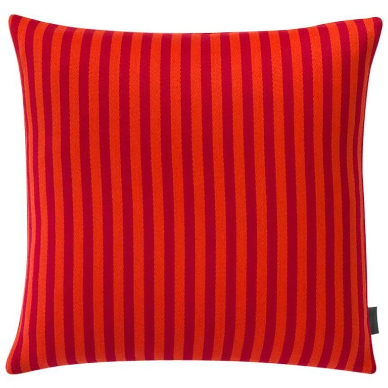 Maharam Pillow, Toostripe by Alexander Girard For Sale