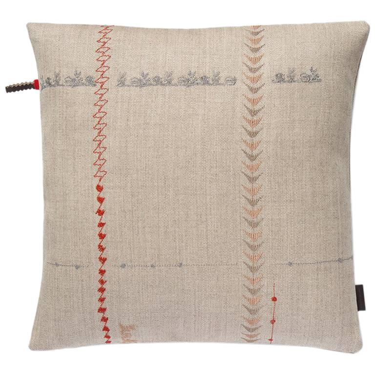 Maharam Pillow, Borders by Hella Jongerius For Sale