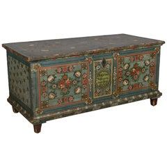 19th Century Bavarian Painted Chest