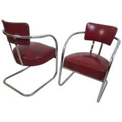 Royal Chrome Chairs, 1930s