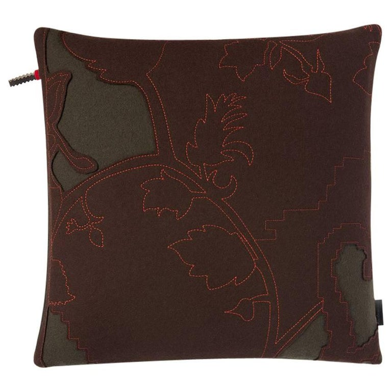 Maharam Pillow, Layers Garden Double by Hella Jongerius For Sale